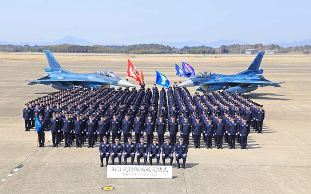 画像1: 空自3飛行隊、7空団に隷属替え|空自百里基地