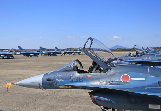 画像7: 空自3飛行隊、7空団に隷属替え|空自百里基地