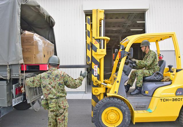 画像5: 災害時の燃料・糧食補給活動を演練|久居駐屯地