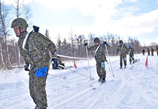 画像8: 冬季戦技競技会 スキー機動能力向上|美幌駐屯地