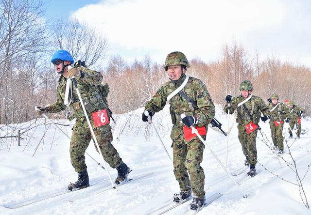 画像5: 冬季戦技競技会 スキー機動能力向上|美幌駐屯地