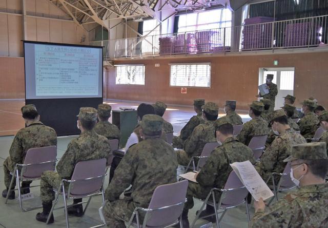 画像2: 部隊長ら70人、新型コロナ対応訓練|金沢駐屯地