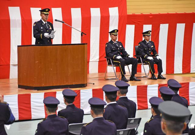 画像3: 「社会人としての責務を」自衛官候補生入隊式|釧路駐屯地