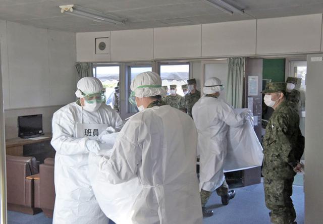 画像4: 部隊長ら70人、新型コロナ対応訓練|金沢駐屯地