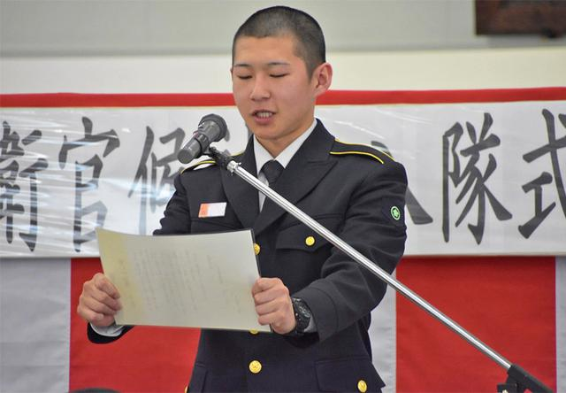 画像6: 「社会人としての責務を」自衛官候補生入隊式|釧路駐屯地