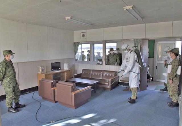画像5: 部隊長ら70人、新型コロナ対応訓練|金沢駐屯地