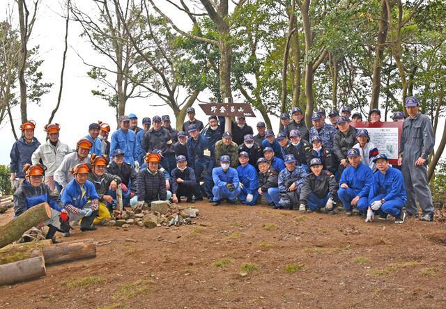 画像4: 登山道整備のボランティアに協力|海自1術校