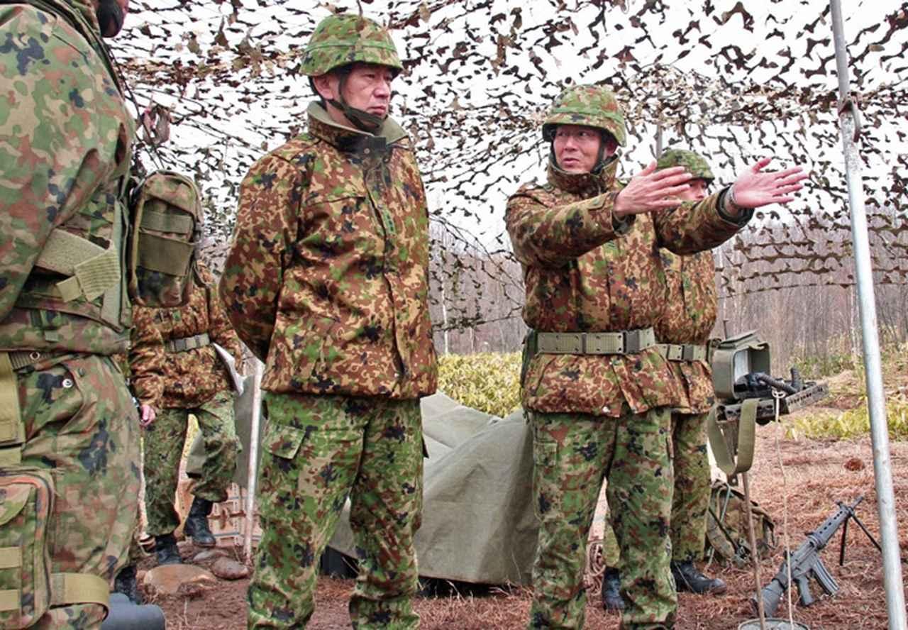 画像1: 連隊野営 射撃能力の向上図る 名寄駐屯地