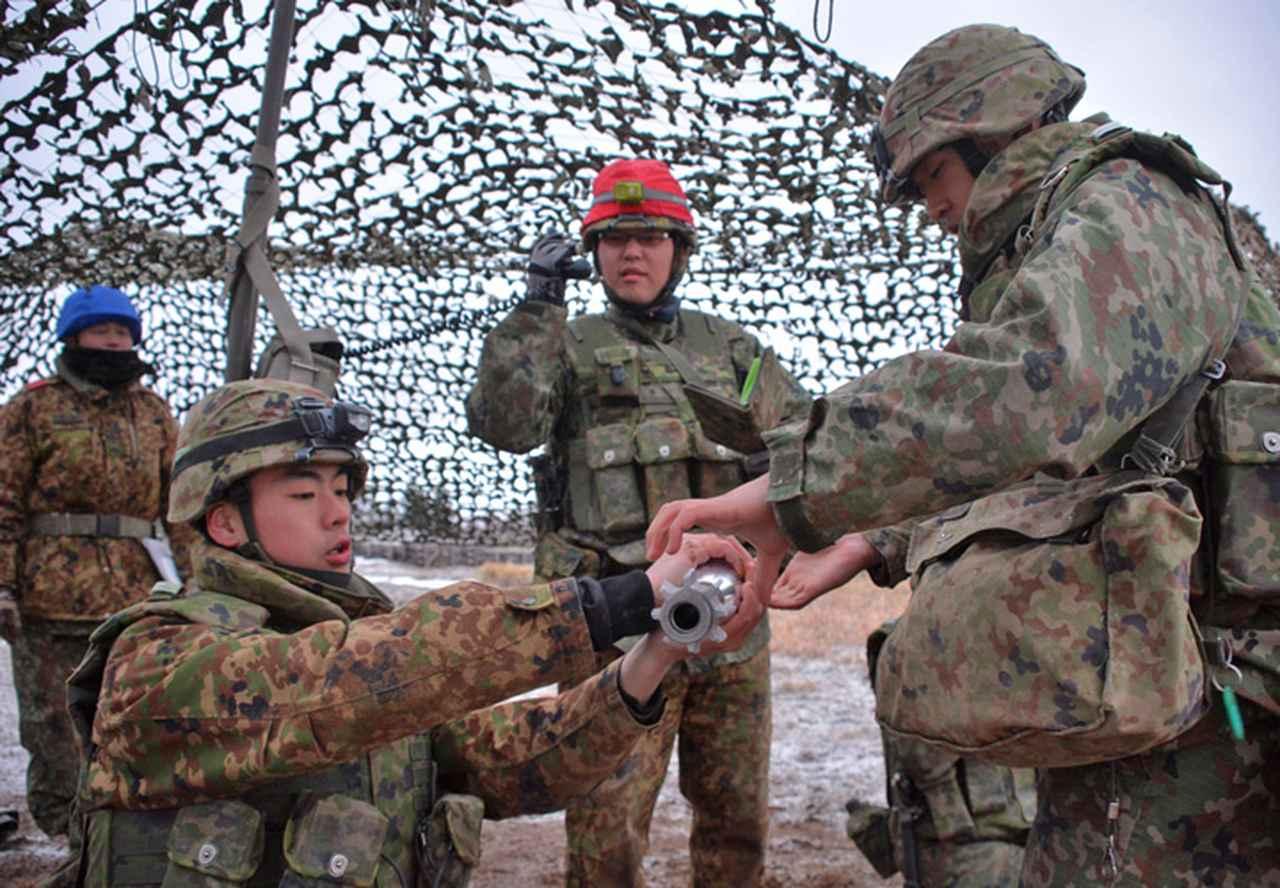 画像9: 連隊野営 射撃能力の向上図る 名寄駐屯地