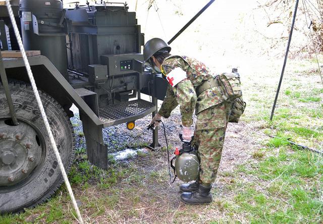 画像7: 東富士演習場整備に隊員400人|高田駐屯地