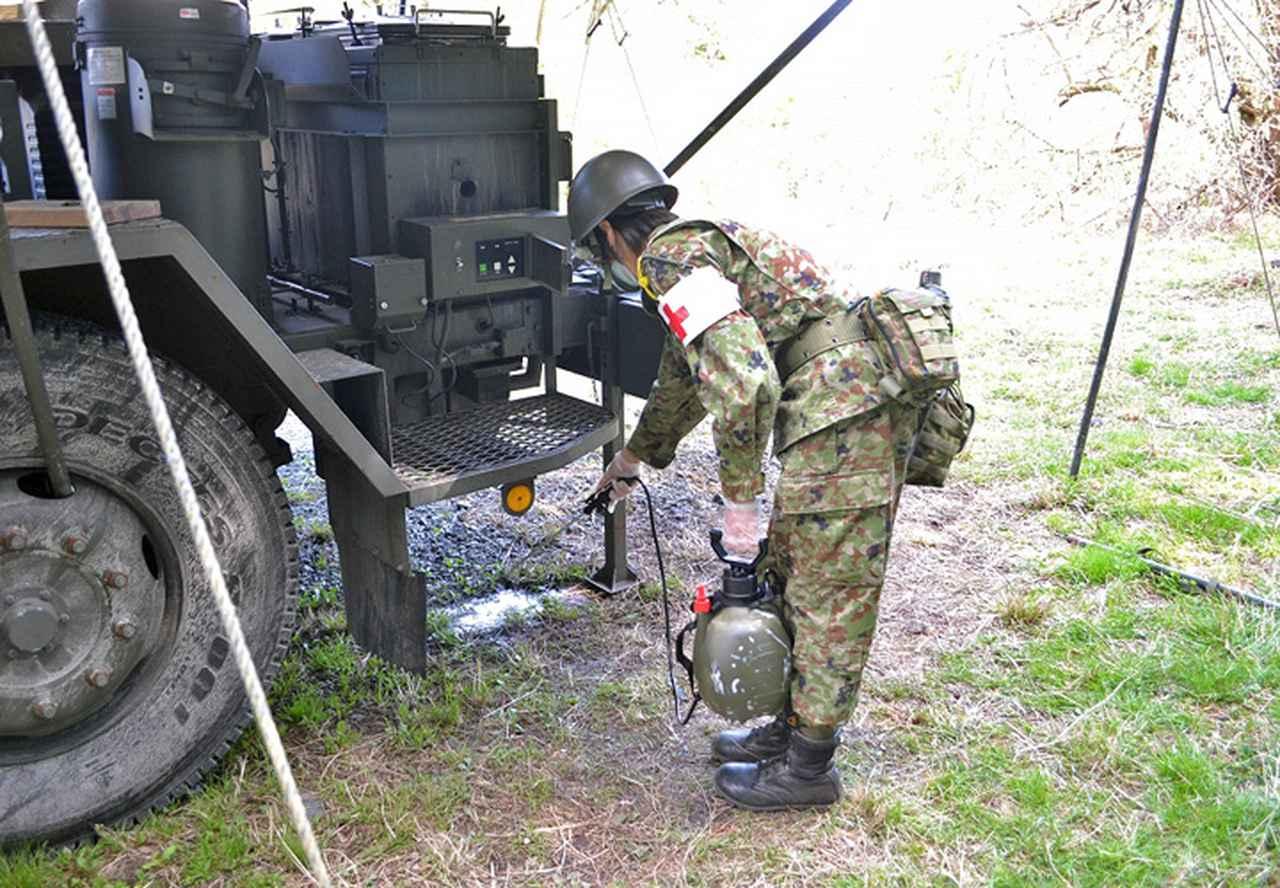 画像7: 東富士演習場整備に隊員400人 高田駐屯地