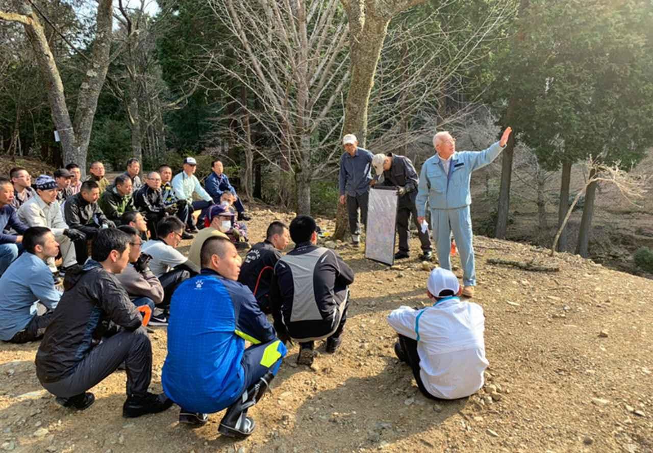 画像1: 修親会が西日本豪雨で損壊した橋を復旧 福知山駐屯地
