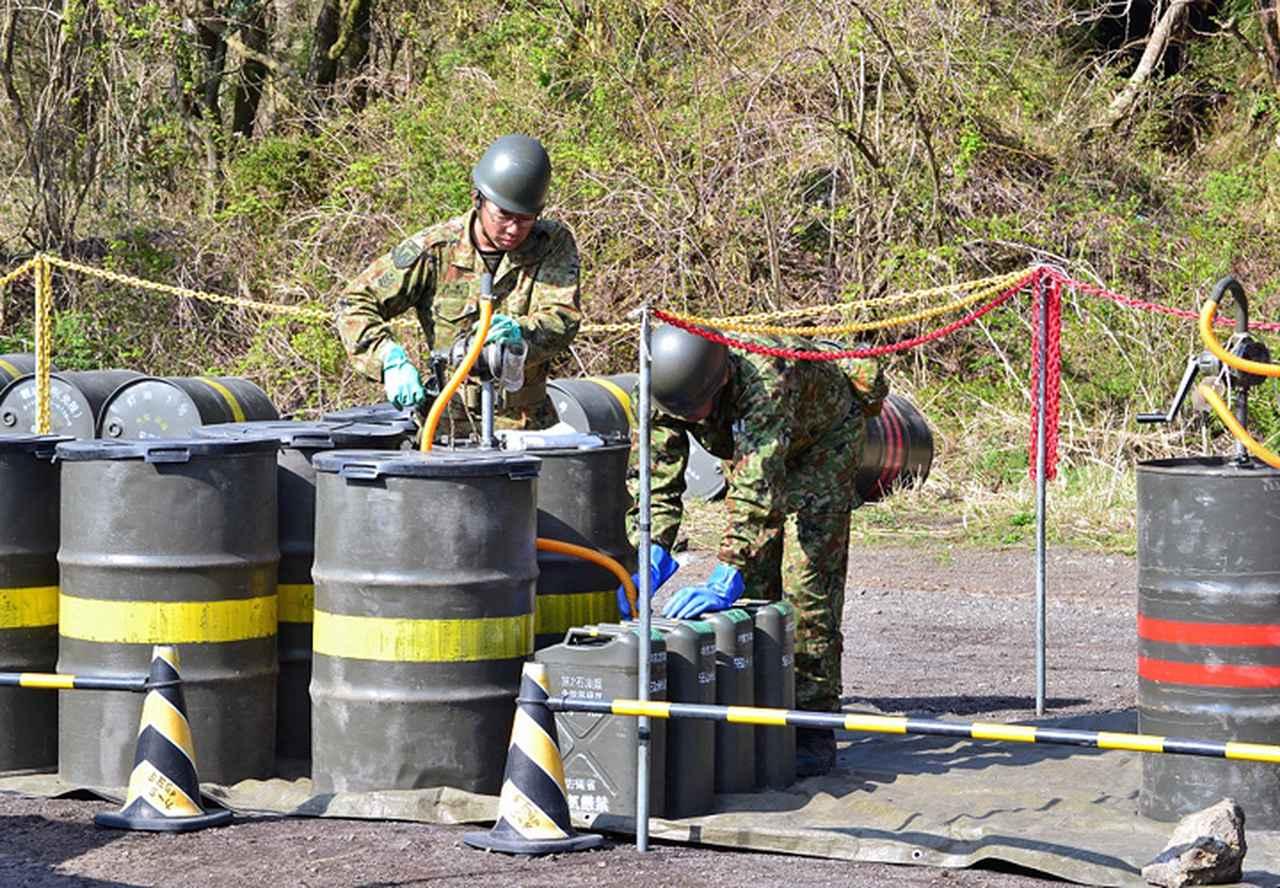 画像4: 東富士演習場整備に隊員400人 高田駐屯地