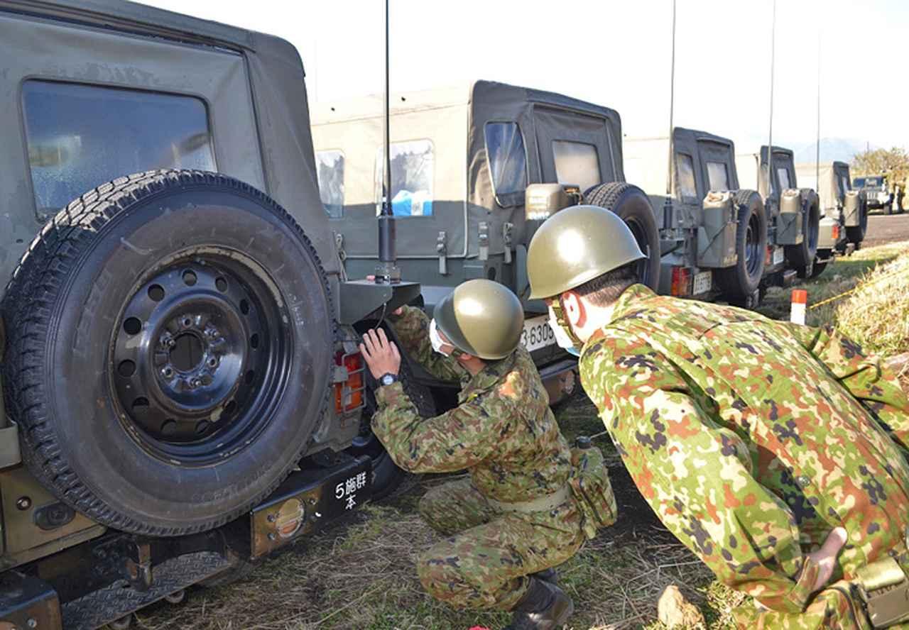 画像5: 東富士演習場整備に隊員400人 高田駐屯地