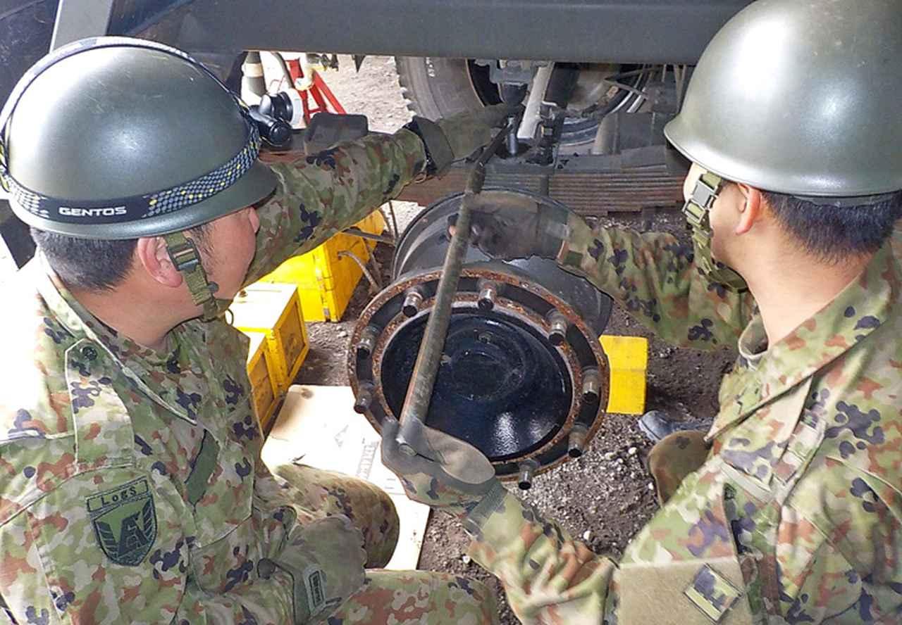 画像6: 東富士演習場整備に隊員400人 高田駐屯地