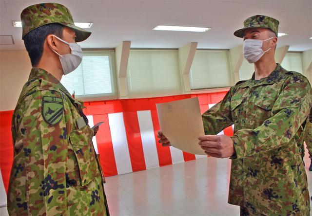 画像2: 新隊員4人が特技課程教育修了|名寄駐屯地
