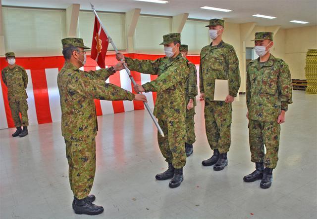 画像4: 新隊員4人が特技課程教育修了|名寄駐屯地