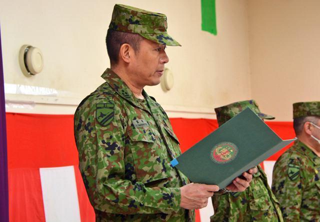 画像1: 新隊員4人が特技課程教育修了|名寄駐屯地