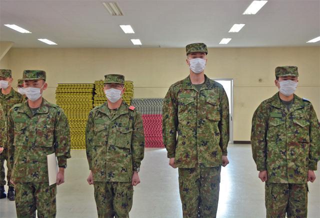 画像3: 新隊員4人が特技課程教育修了|名寄駐屯地