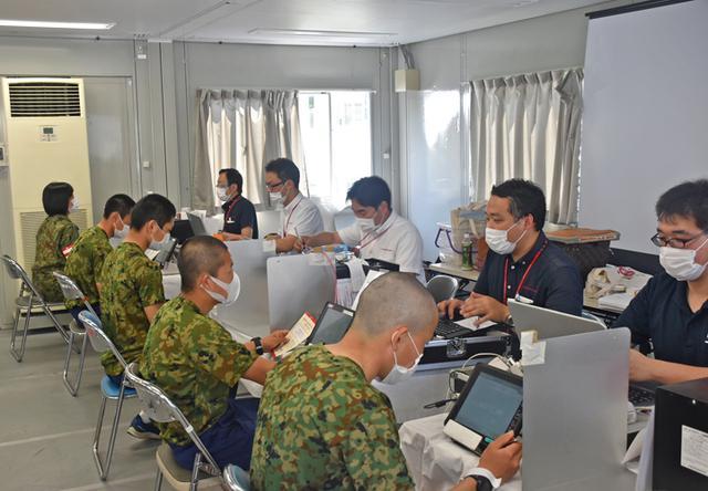 画像4: GW外出制限中に隊員700人が献血|武山駐屯地