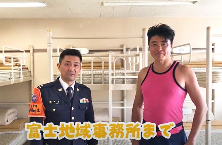"""画像: """"タケノコ王""""が自衛隊PR 静岡地本"""