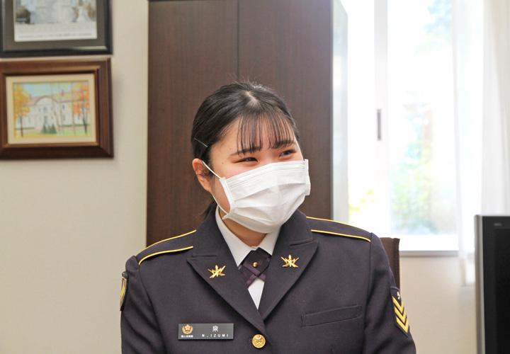 画像: 泉菜月 陸士長(北海道補給処)