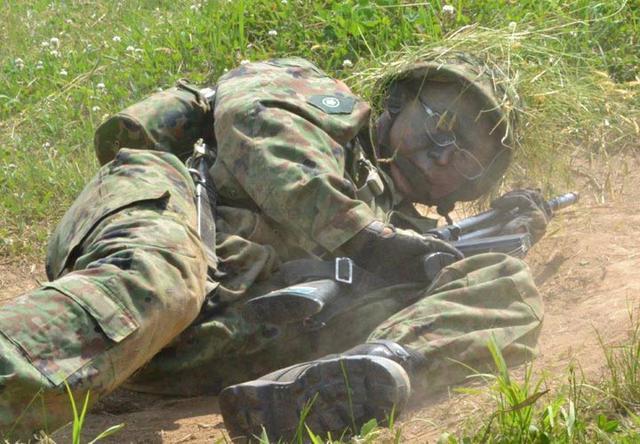 画像2: 自候生72人が戦闘訓練「自信と達成感」|福島駐屯地