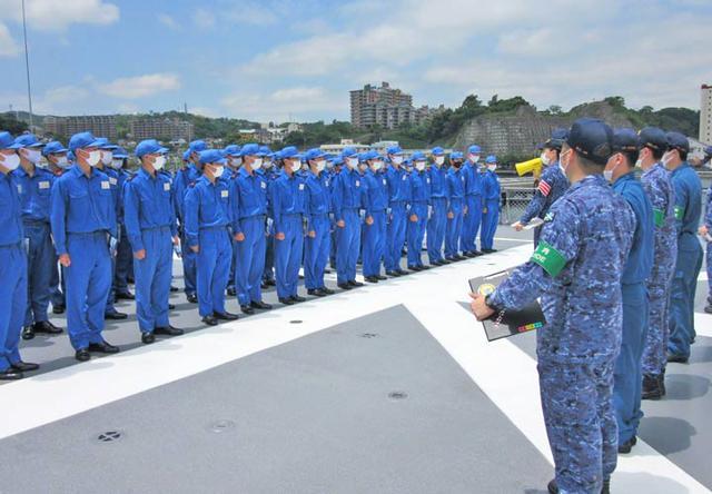 画像3: 曹候生・自候生116人がイージス艦内を見学|海自護衛艦「きりしま」
