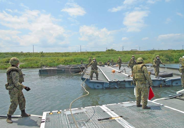 画像7: 中部方面施設科練度維持訓練に300人 大久保駐屯地