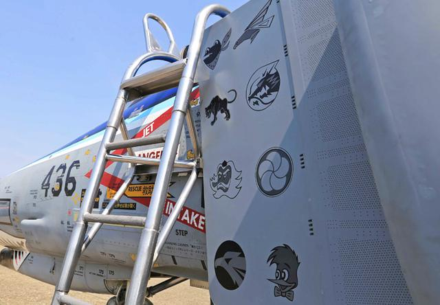 画像3: 今年度運用終えるF4戦闘機を特別塗装|空自百里基地