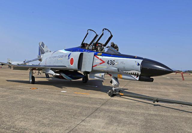 画像2: 今年度運用終えるF4戦闘機を特別塗装|空自百里基地