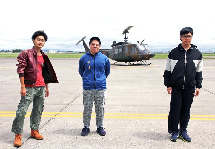 画像4: UH‐1多用途ヘリ、55人が体験搭乗|札幌地本