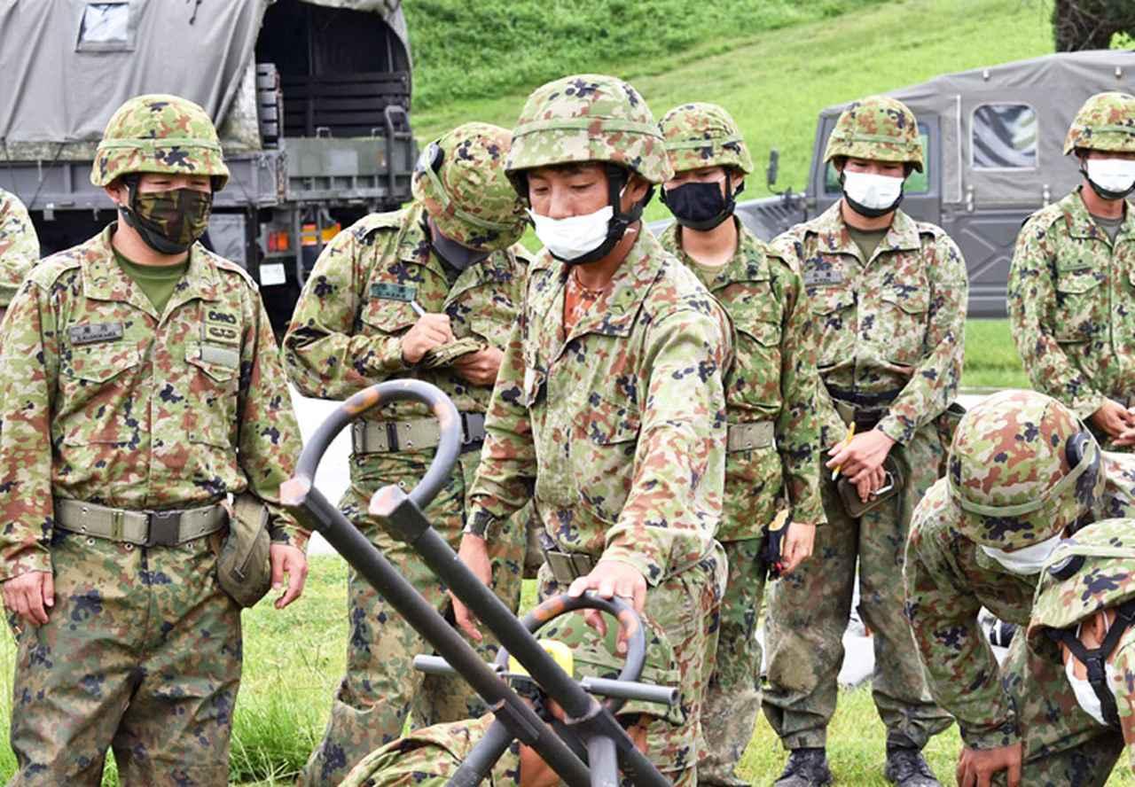 画像7: 爆破訓練で実爆による障害処理など演練 陸自15旅団