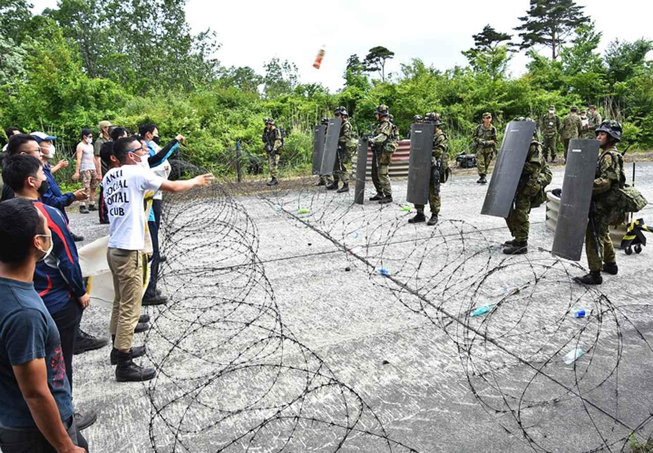 画像2: 2普連、市街地訓練場で初めての検閲|高田駐屯地