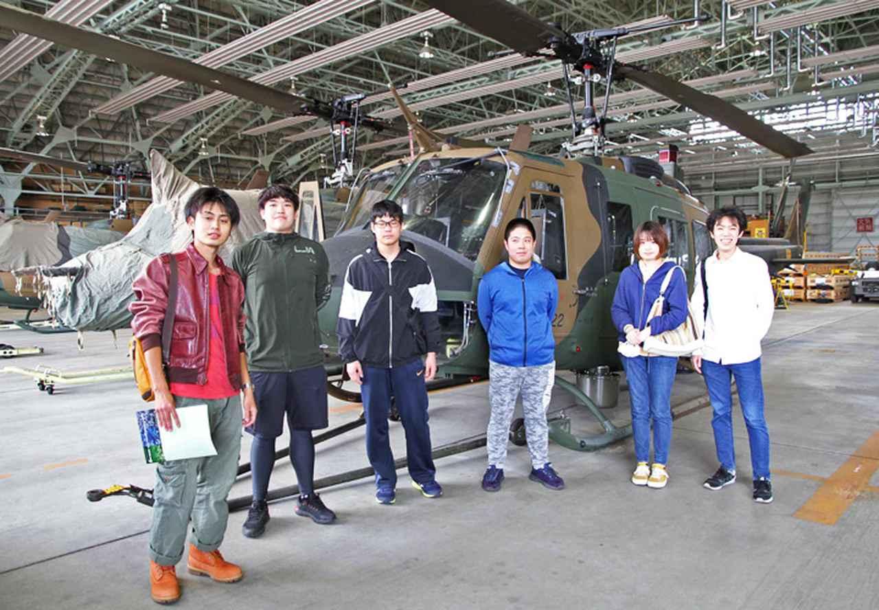 画像5: UH‐1多用途ヘリ、55人が体験搭乗|札幌地本