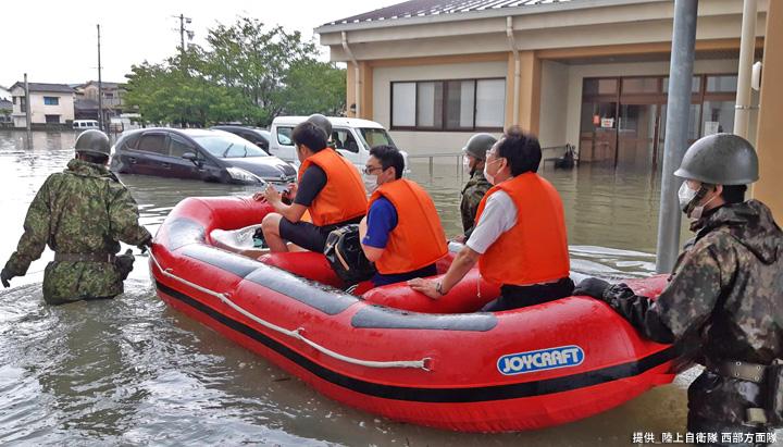画像5: 写真で見る「令和2年7月豪雨」災害派遣|陸自西部方面隊