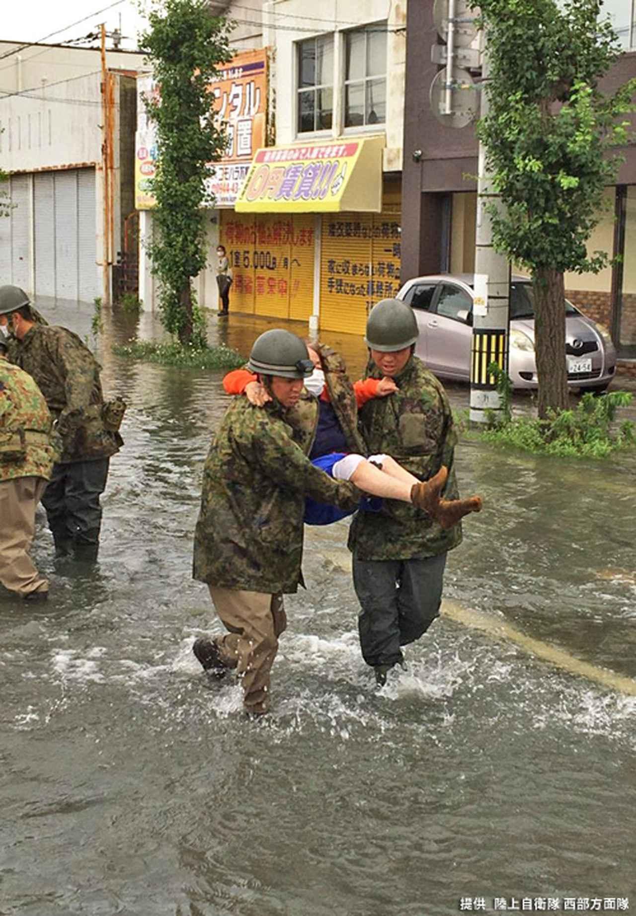画像6: 写真で見る「令和2年7月豪雨」災害派遣|陸自西部方面隊