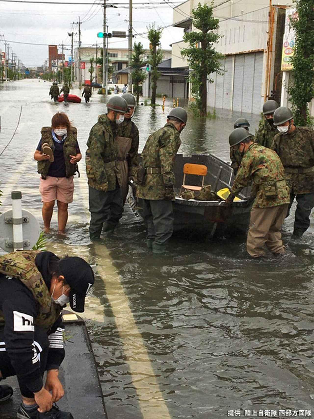 画像7: 写真で見る「令和2年7月豪雨」災害派遣|陸自西部方面隊