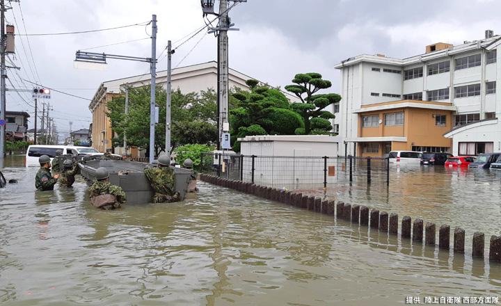 画像3: 写真で見る「令和2年7月豪雨」災害派遣|陸自西部方面隊