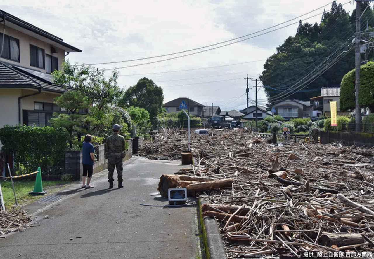 画像10: 写真で見る「令和2年7月豪雨」災害派遣|陸自西部方面隊
