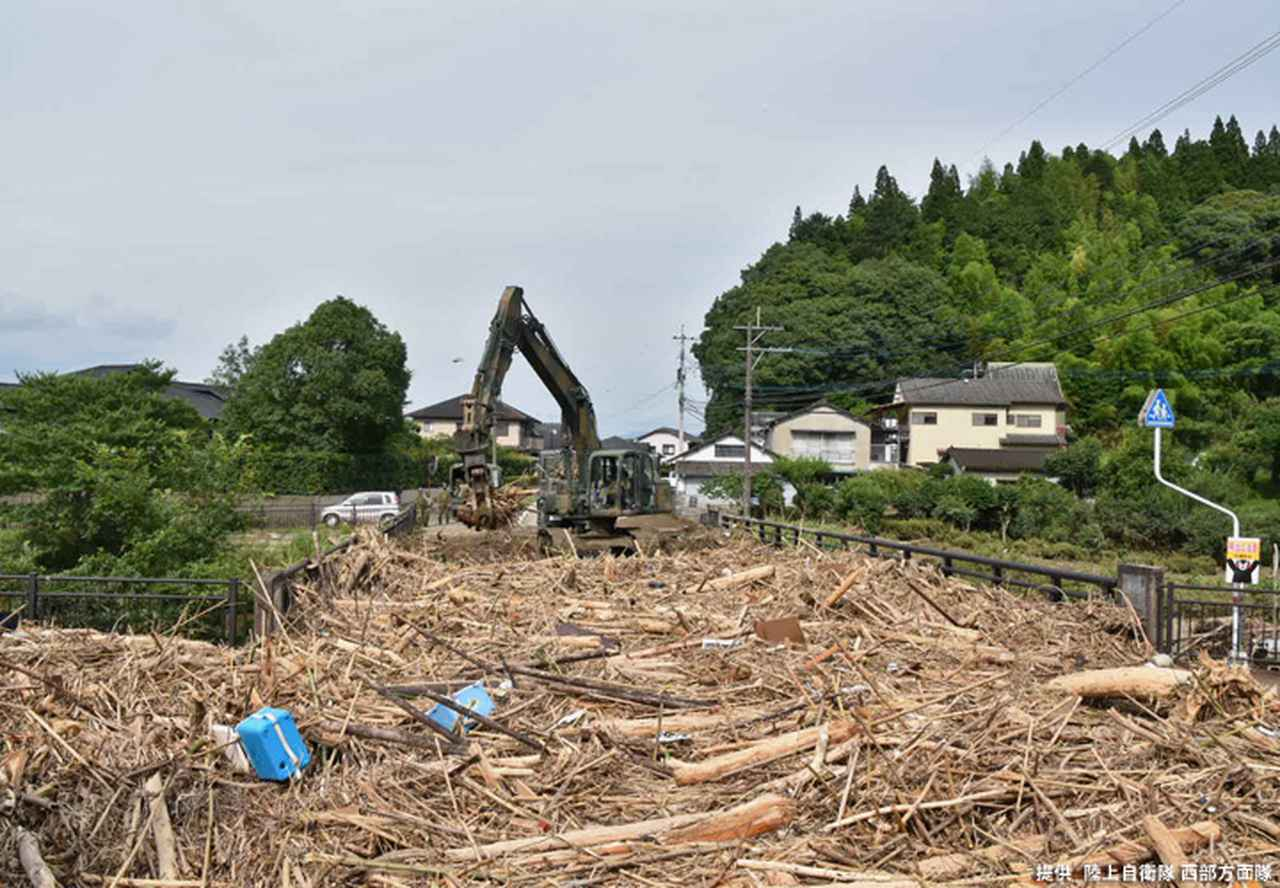 画像11: 写真で見る「令和2年7月豪雨」災害派遣|陸自西部方面隊