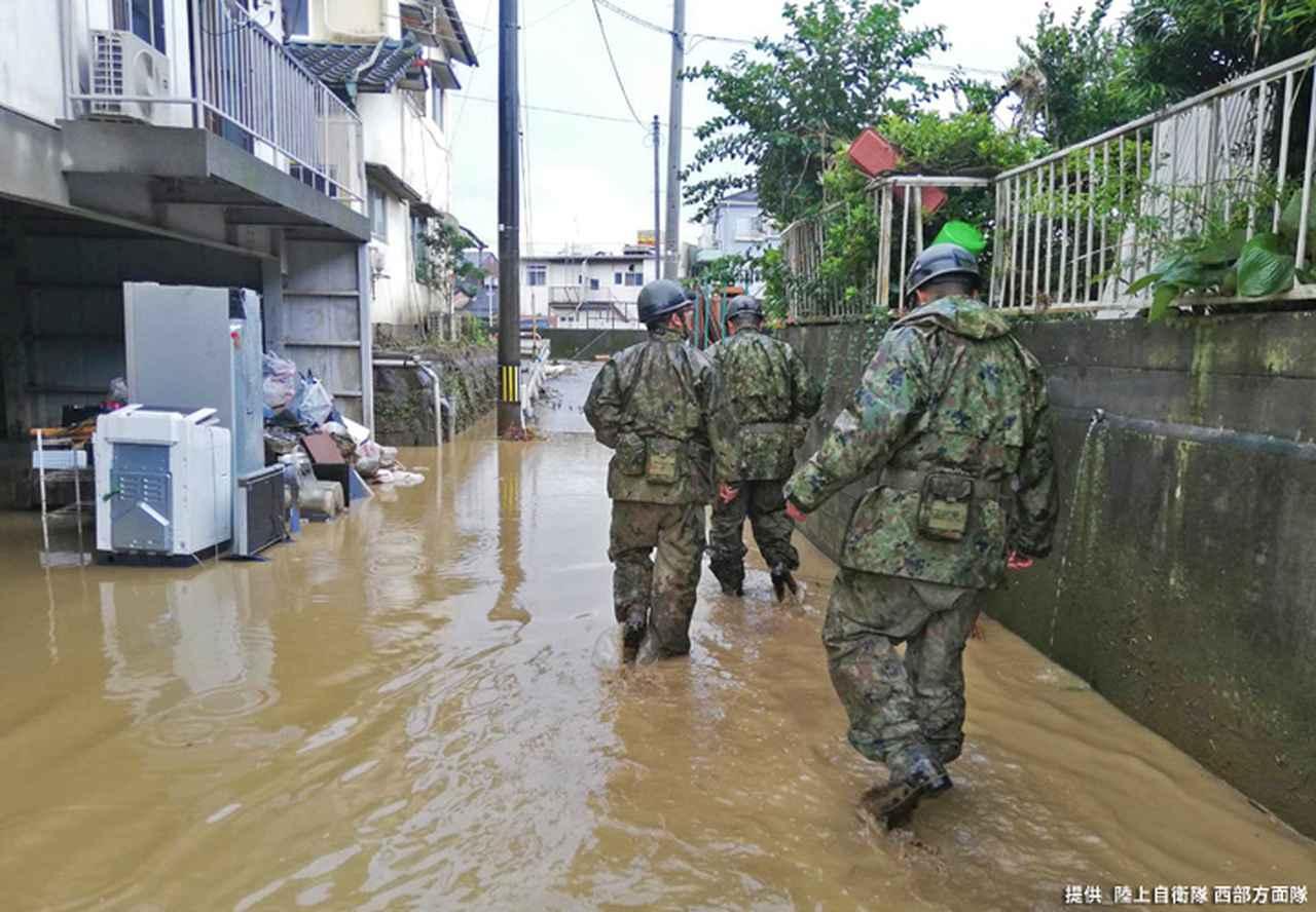 画像8: 写真で見る「令和2年7月豪雨」災害派遣|陸自西部方面隊