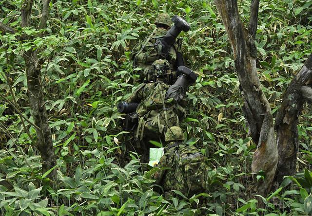 画像1: 3中隊と施設作業小隊の訓練検閲|秋田駐屯地