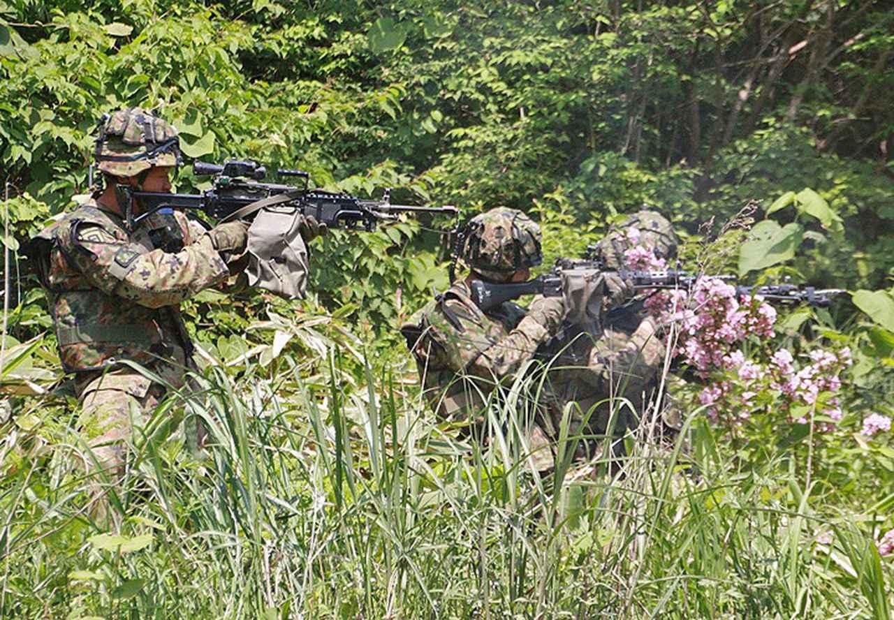 画像3: 3中隊と施設作業小隊の訓練検閲|秋田駐屯地