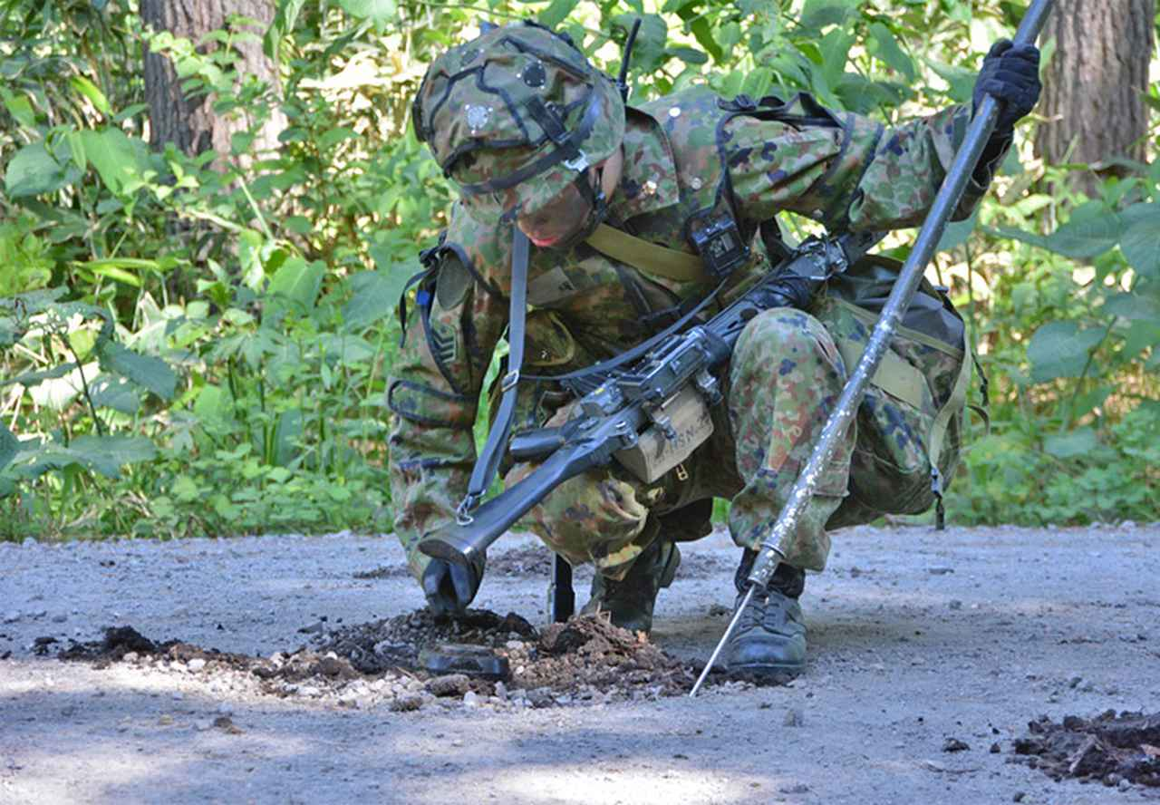 画像5: 3中隊と施設作業小隊の訓練検閲|秋田駐屯地