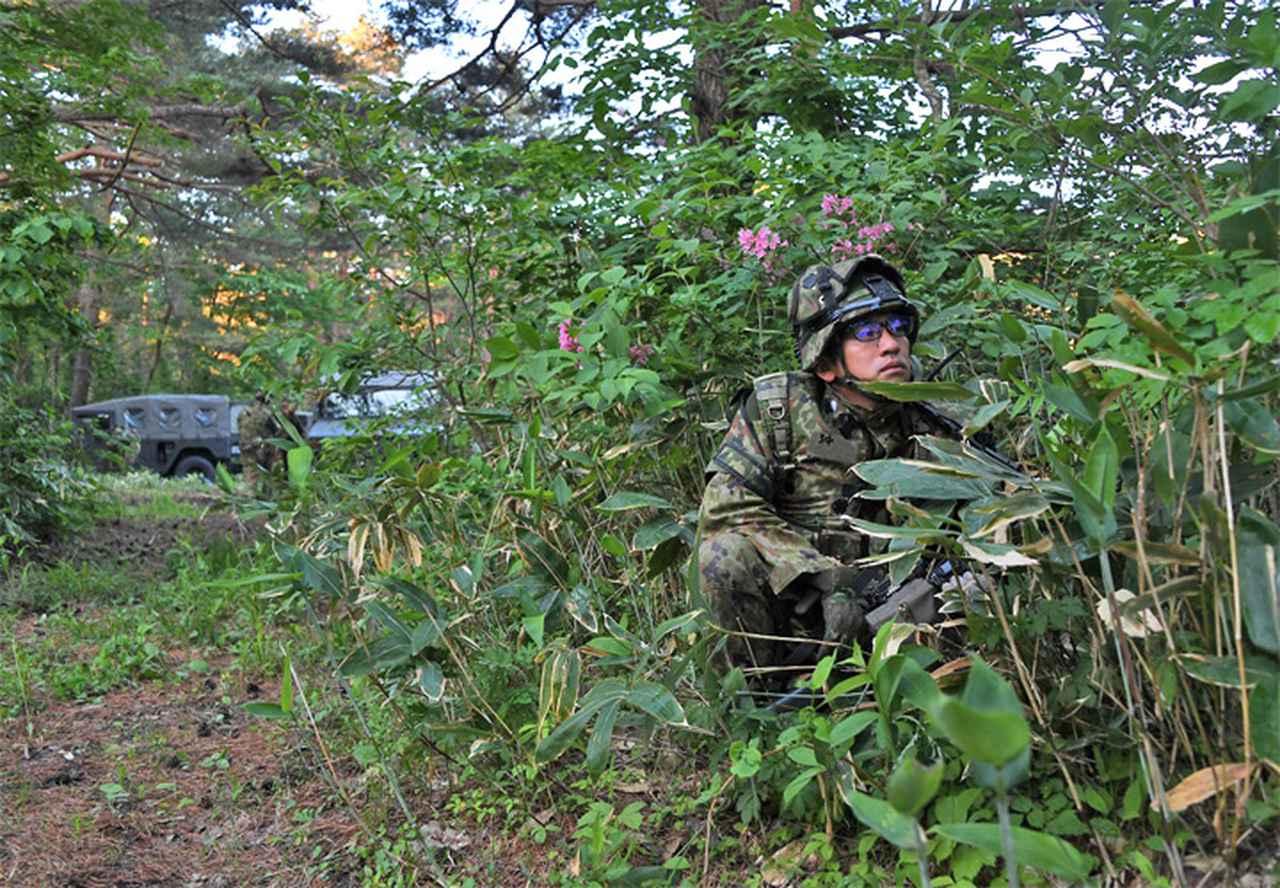 画像2: 3中隊と施設作業小隊の訓練検閲|秋田駐屯地