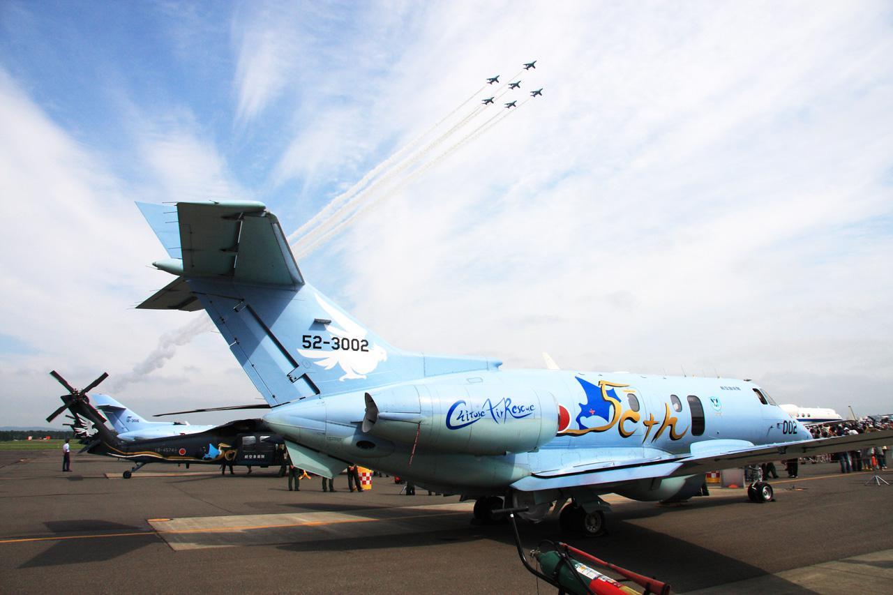 画像3: ブルーインパルス、千歳基地での訓練中止に|空自千歳基地