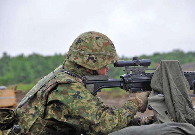 画像5: 即応予備自が射撃野営訓練 真駒内駐屯地