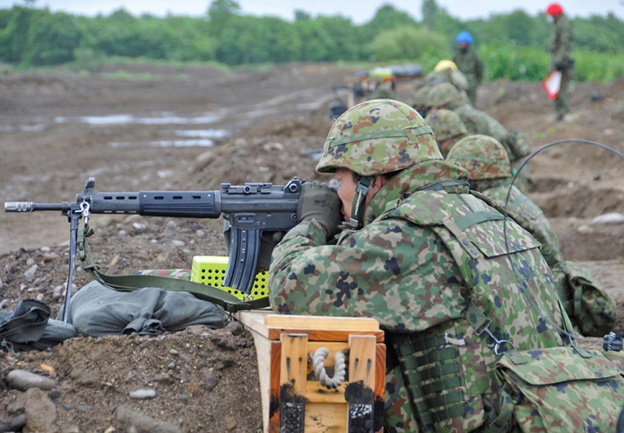 画像4: 即応予備自が射撃野営訓練|真駒内駐屯地