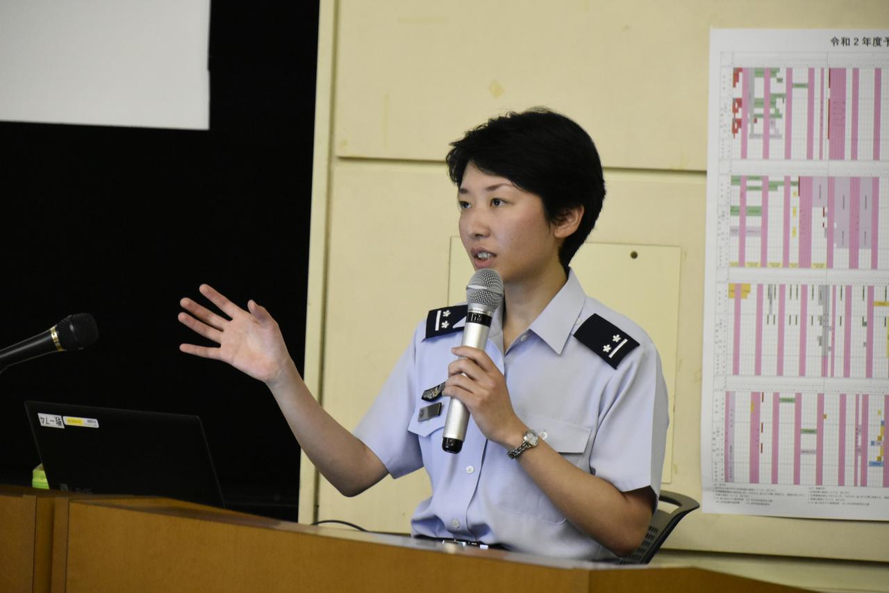 画像1: OG医官が1年生に講演、不安軽減図る 防衛医科大学校